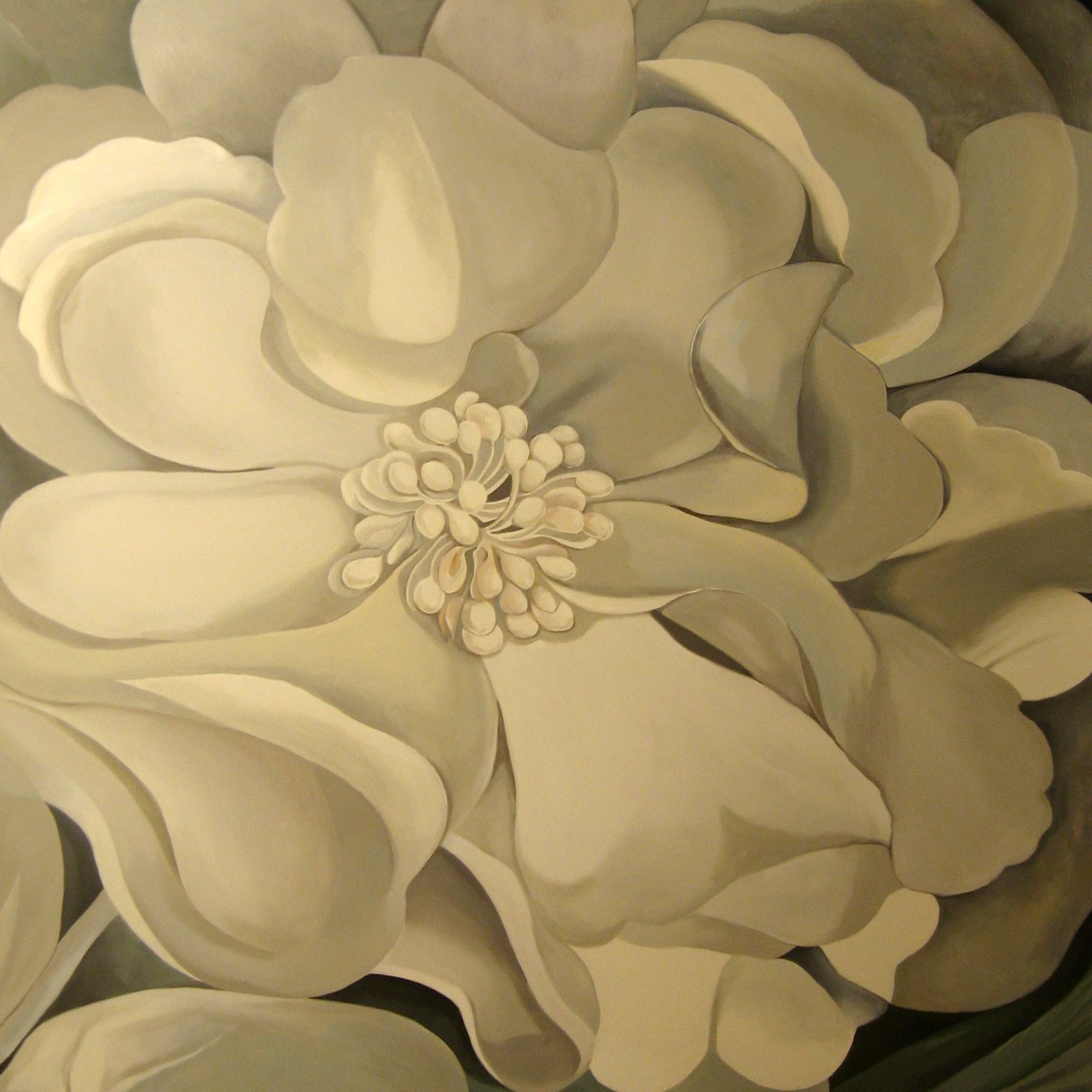 Beige flower
