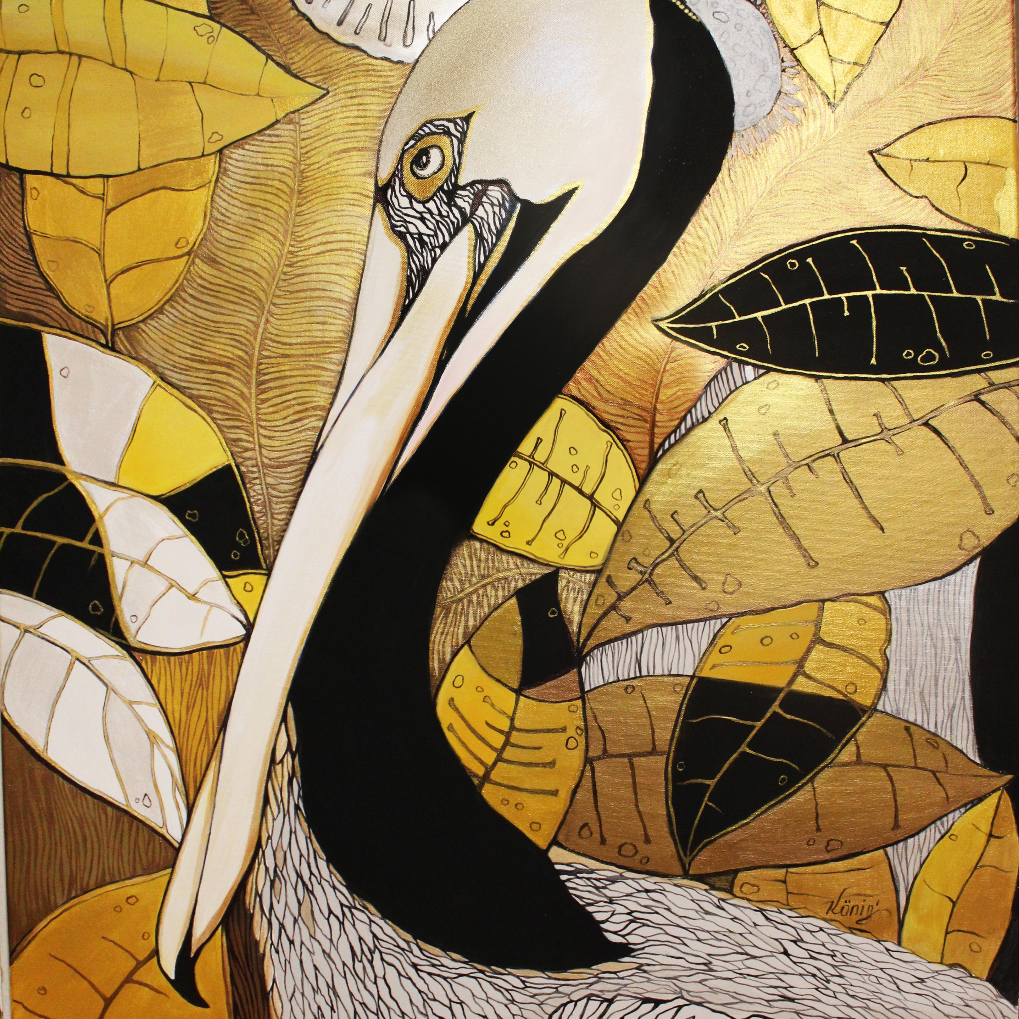 Golden pelican