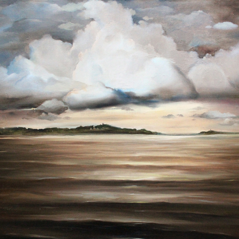 Clouds landscape